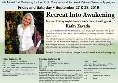 retreat web page